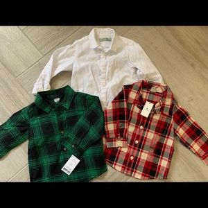 Other - NWT - Lot of 3 button down shirts